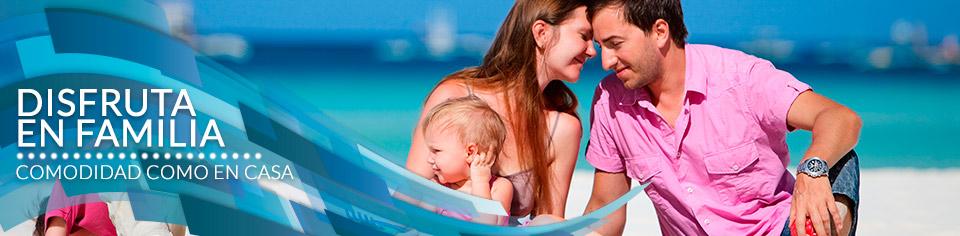 familia de vacaciones en villa grand orquidea